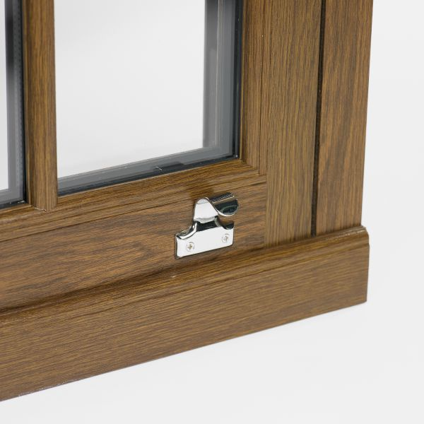 Mechanically jointed sliding sash windows