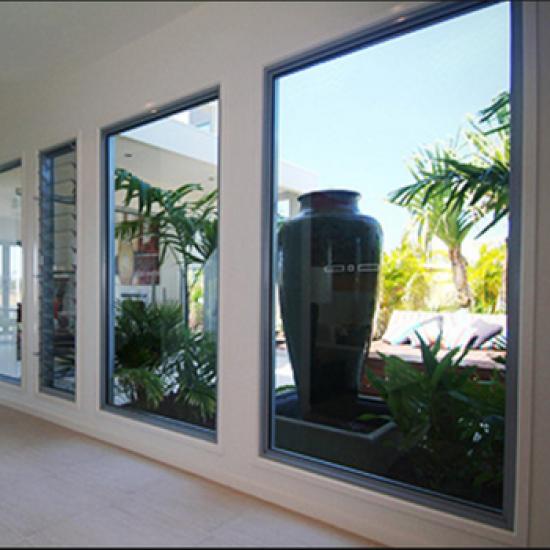 jendela aluminium kaca