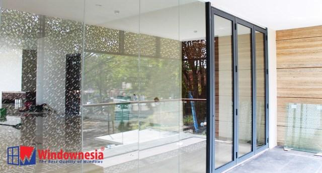 Pintu Lipat / Folding Aluminium