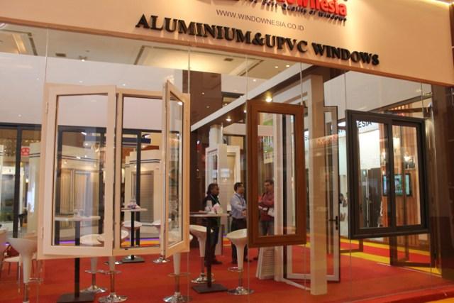 Pameran Jendela Aluminium dan Jendela UPVC di Jakarta Covention Center (2)