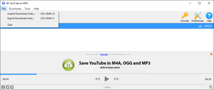 4K YouTube to MP3 4.7.3.2742 Code Torrent 2019 Download Free Working