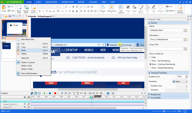 ActivePresenter Professional Edition 11.44 Serial Include Torrent 2019 Download