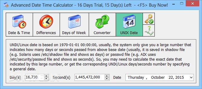 Advanced Date Time Calculator Code