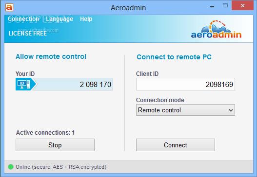 AeroAdmin 4.63196 Code Torrent Download 2019 Free Working