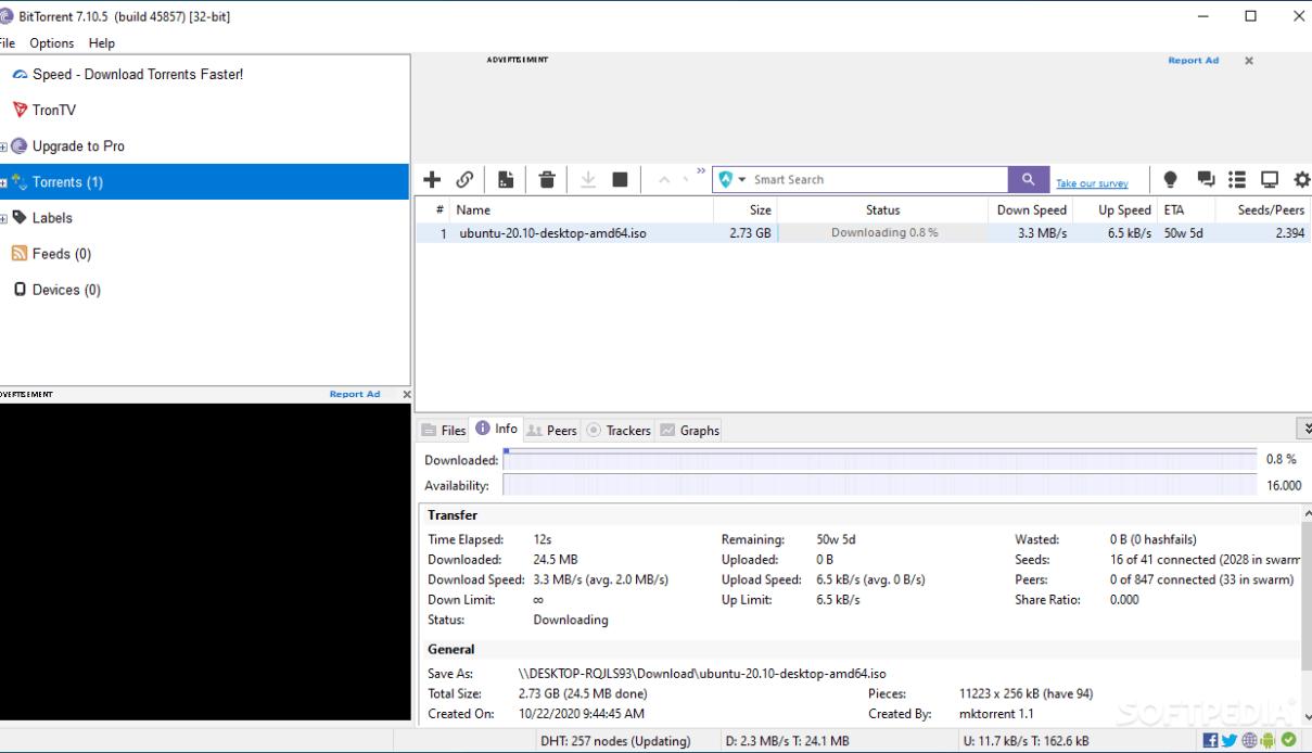 BitTorrent Pro – Official Torrent Download App v6.5.7+ Full Activation Key