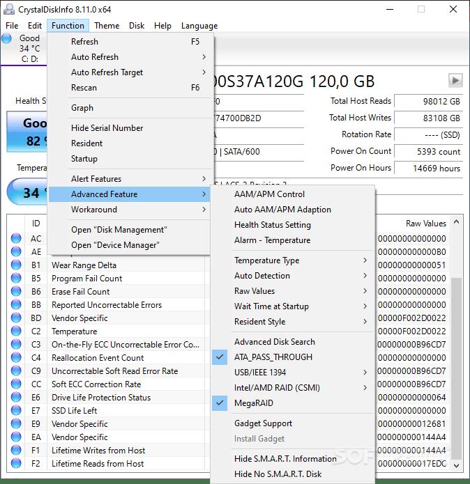 CrystalDiskInfo 8.12.10a Final 2019 Download