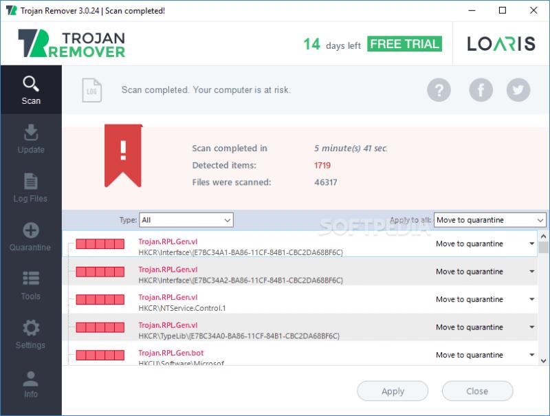 Loaris Trojan Remover 3.0.22