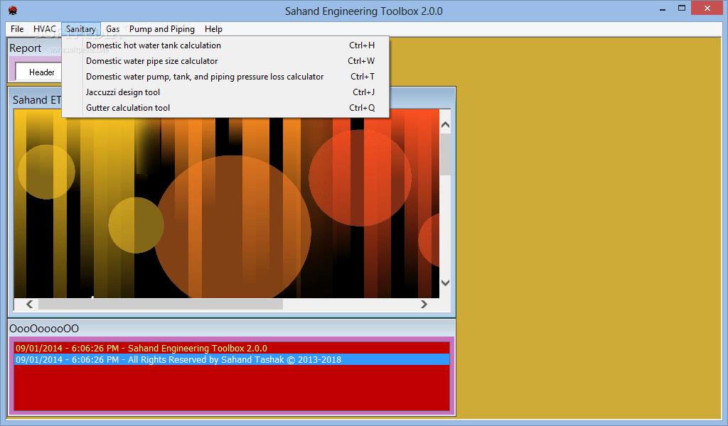 Download Sahand Engineering Toolbox 200