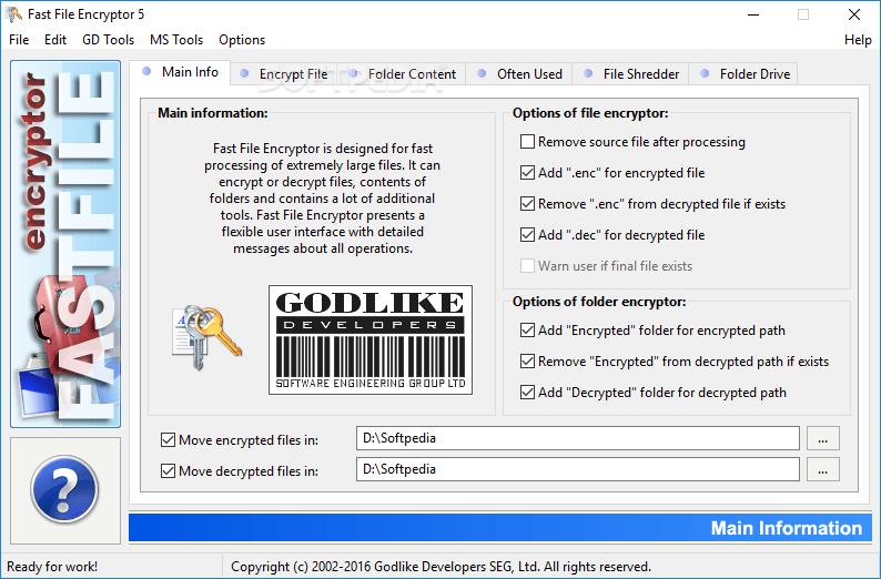 Fast File Encryptor 8.7 Free