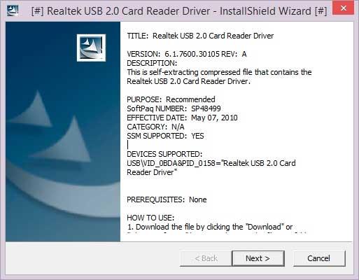 sd card reader driver windows 10 download