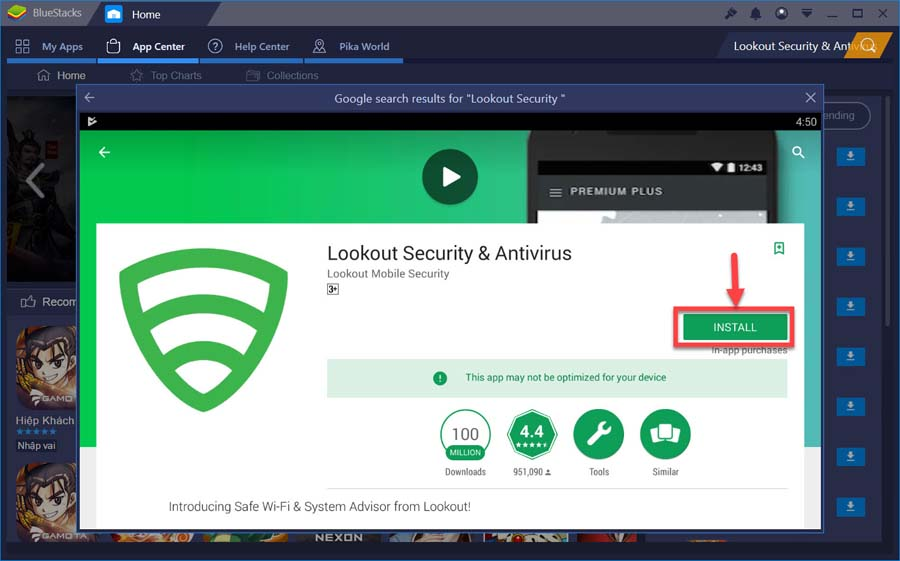 Lookout Security Antivirus