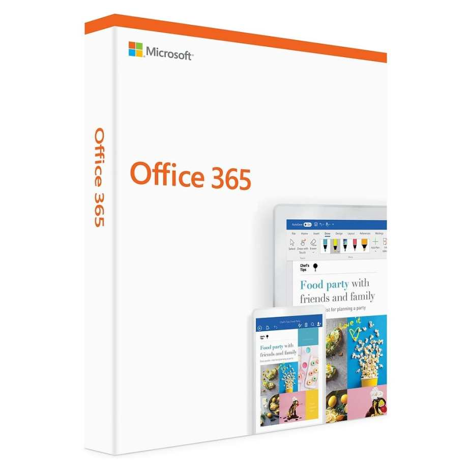 Microsoft Office 365 Basic Subscription for 5 PC/Mac (Lifetime Account)
