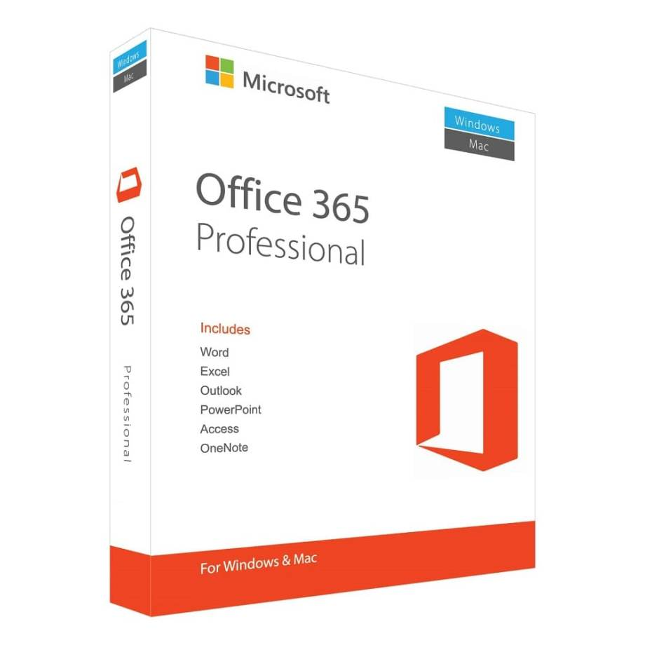 Microsoft Office 365 Pro Subscription for 3 PC/Mac (Lifetime Account)
