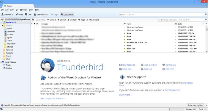 mozilla thunderbird for windows 10 download