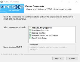 install ps2 emulator on windows 10