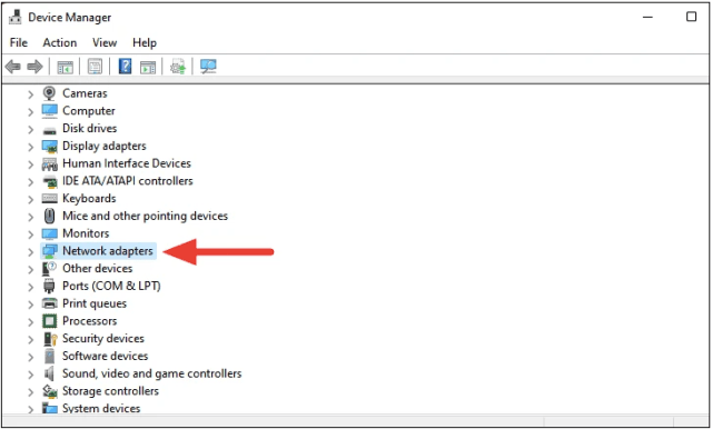 Fix Windows 11 WiFi Not Working by Re-enabling Network Adapter Driver