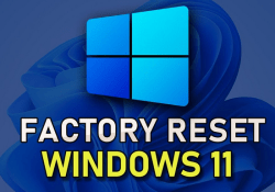 How to factory reset Windows 11