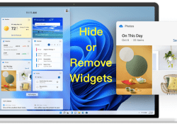 Hide or remove Windows 11 Widgets