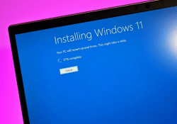 How to Install Windows 11 from Bootable USB drive