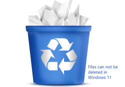 How to Delete Files That Can Not Be Deleted on Windows 11