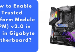 How to Enable TPM 2.0 in BIOS Gigabyte for Windows 11