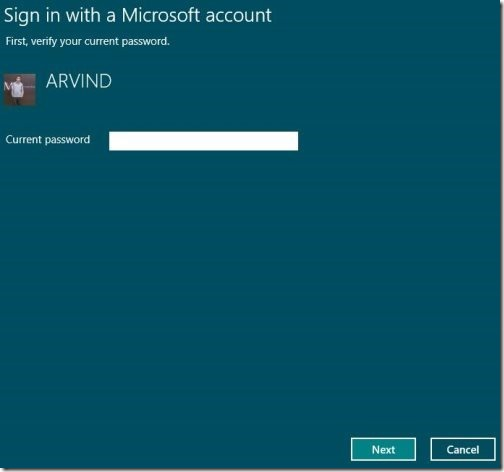 Toogle Between Microsoft account to local account 9