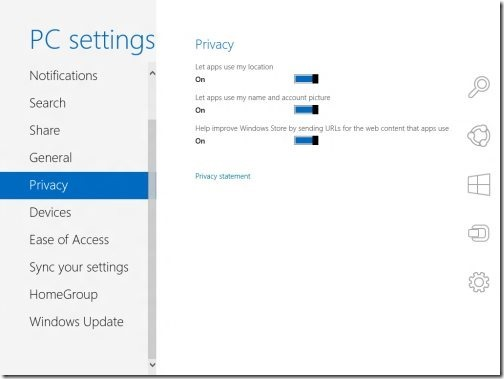 Windows 8 PC settings 6