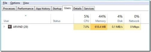Windows 8 task manager 5