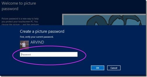 Windows picture password 4