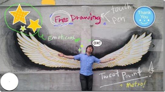 Tweet Paint App