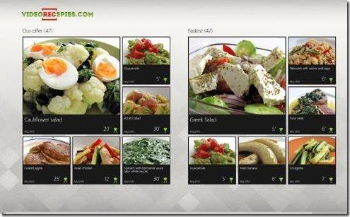 Video Recipe App