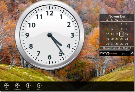 Windows 8 alarm clock apps