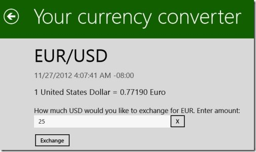 YourCurrency Converter