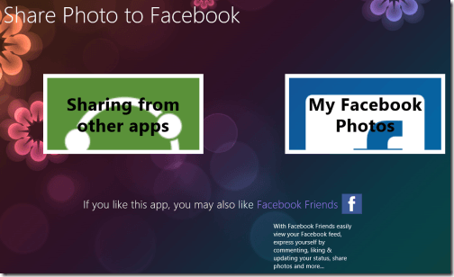 Share-Photos-to-Facebook-interface