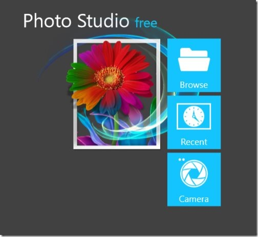 Windows 8 photo editor app