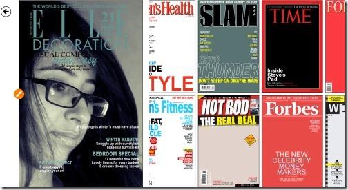 Windows 8 fake magazine cover maker app