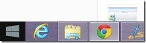 Windows 8.1 start button transition