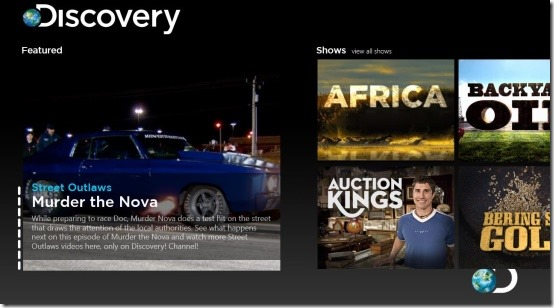 windows 8 discovery channel