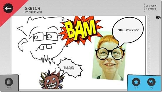 Comic Director - creating comic
