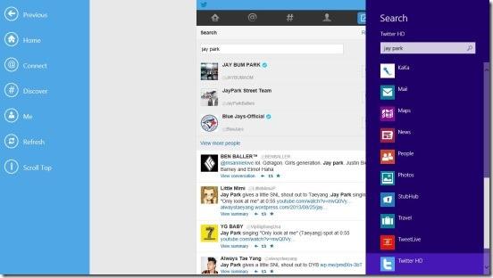 Twitter HD - Search