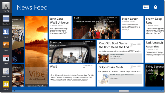 Vibe - News Feeds