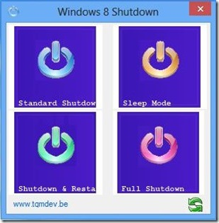 Windows 8 Shutdown- Shutdown Operations