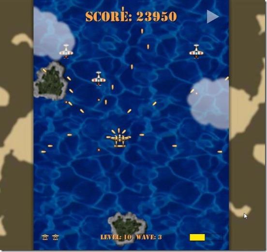 Aviator Arcade - gameplay