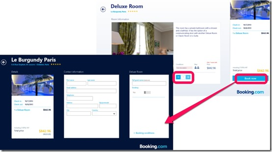 Booking.com- Book your rooms