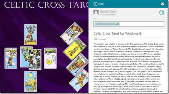 Celtic Cross Tarot- Share your result