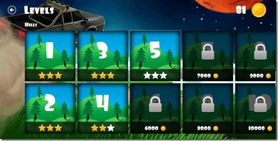 Offroad Racing- Choose the level