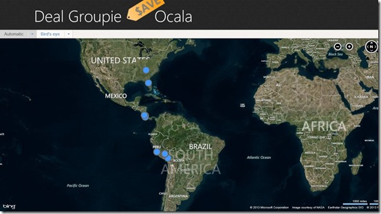 Deal Groupie- Map