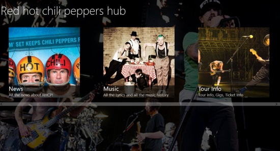 Red hot chili peppers hub