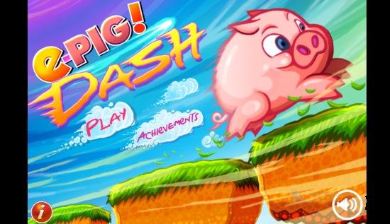 ePig Dash- Begin
