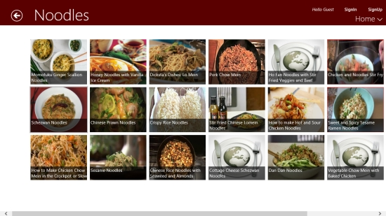 Learn making chinese food with this free windows 8 chinese recipes chinese recipes dishes in a category forumfinder Images